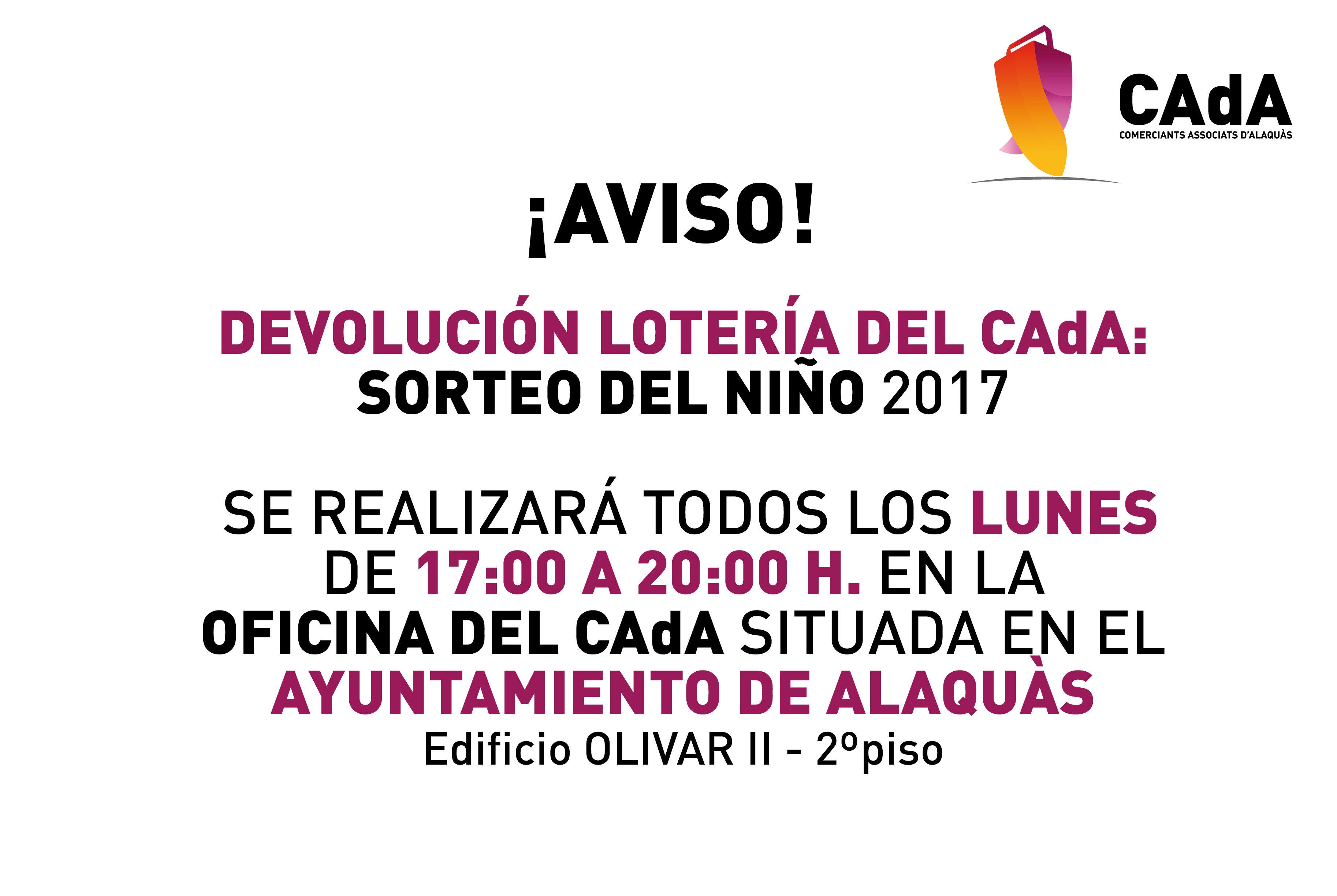 LOTERIA-AVISO- CAdA-sorte-niño-2017-devolucion