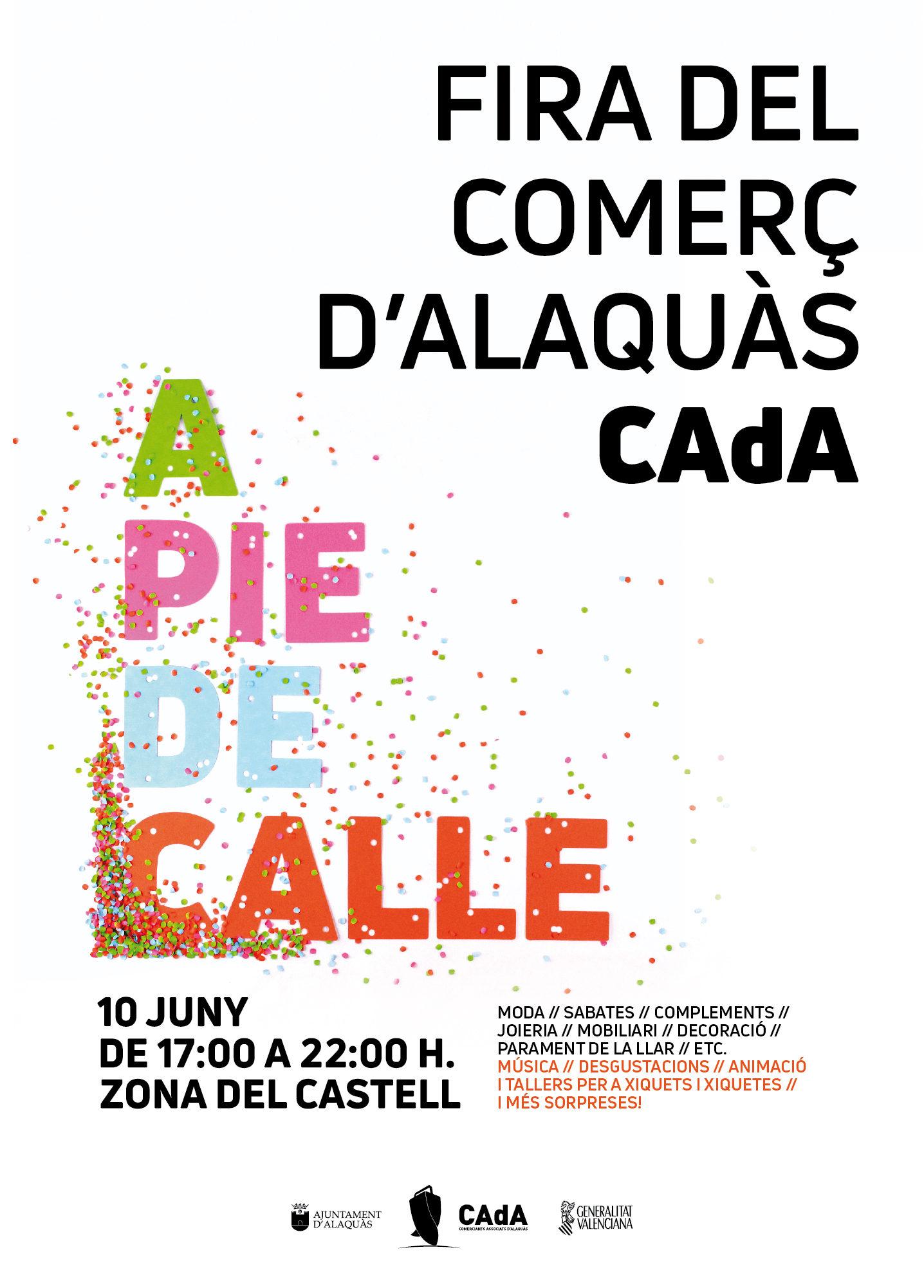 Cartel-FERIA-comercio-alaquas-pie-calle-castillo