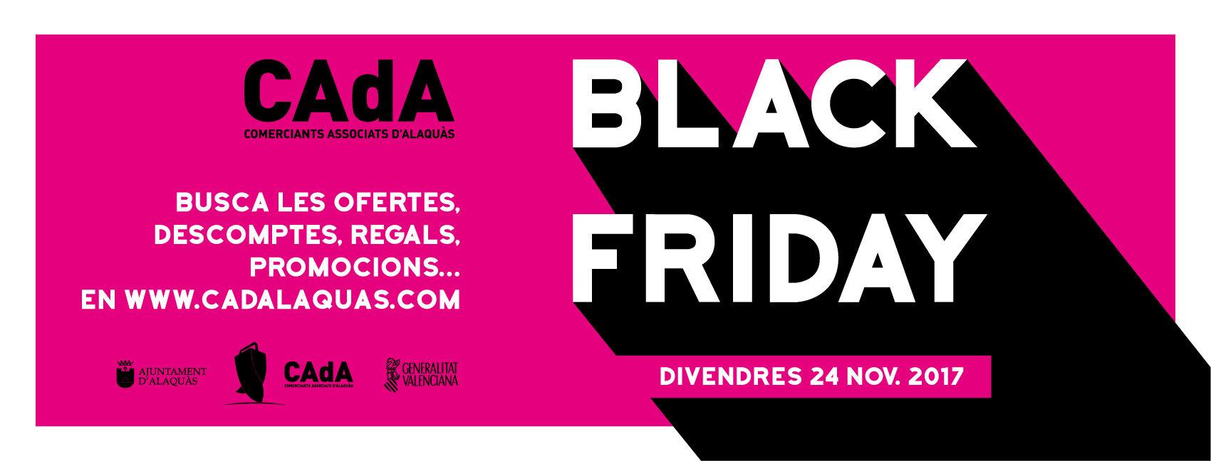 black friday ofertas CAdA alaquas descuentos compra