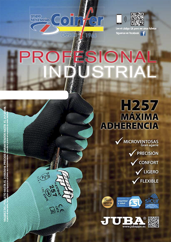 Folleto profesional / industrial