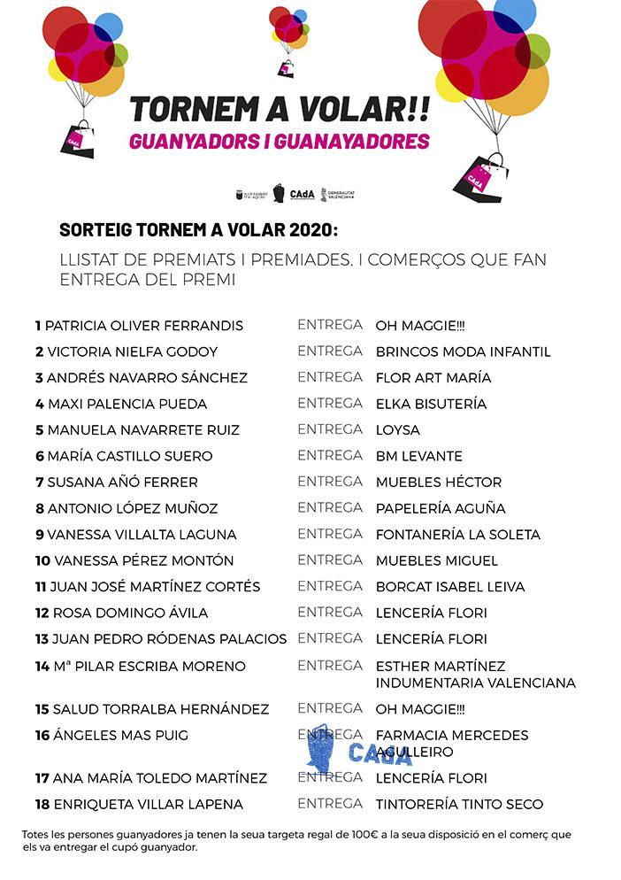 PREMIADOS CAdA SAN VALENTIN 2020