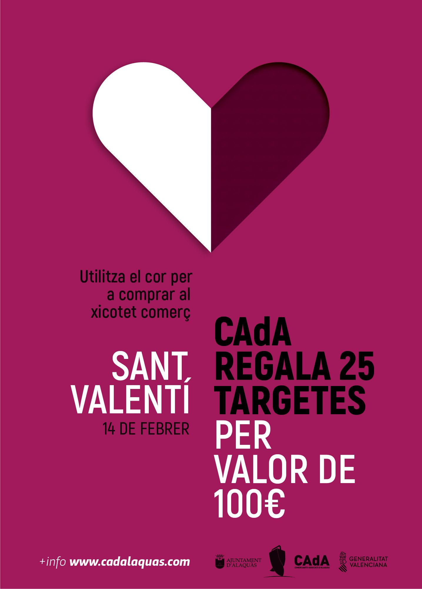 cartel CAdA San Valentin sorteo 2021